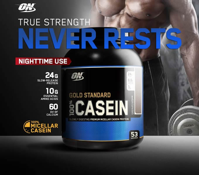 Optimum Nutrition Casein Protein Aa Sports Nutrition