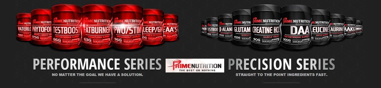 Prime Nutrition Performance and precision series