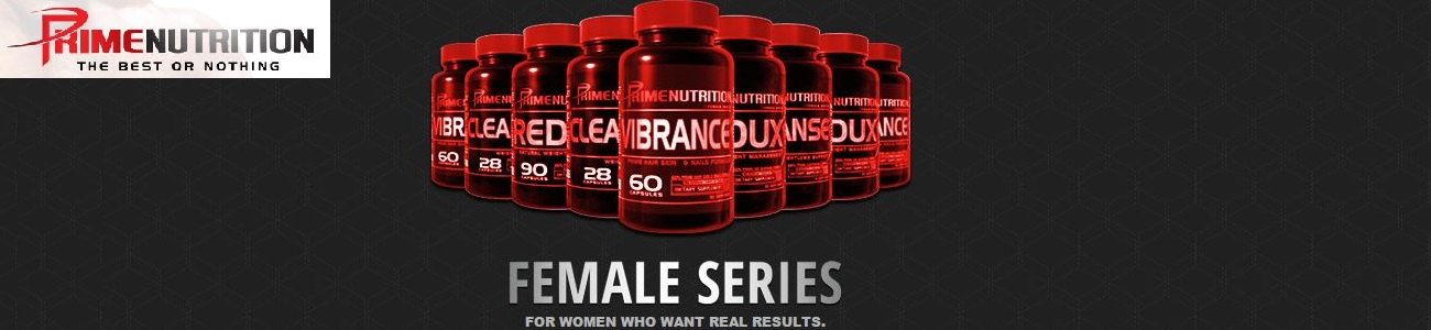 PRIME NUTRITION FEMALE SERIES